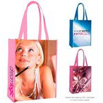 Laminated Non-Woven Portrait Tote Bag