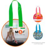 Laminted Non-Woven Mini Round Tote Bag