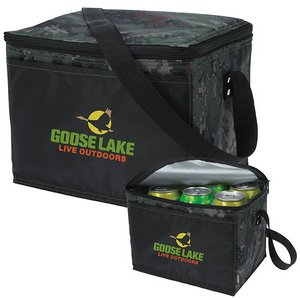 KOOZIE® Six-Pack Kooler Camouflage