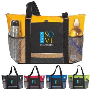 Icy Bright Cooler Tote Bag