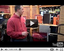 Custom Logo Canyon Outback USA Made Leather Briefcases and Gifts Video