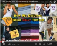 See how customized beach towels are printed at our factory