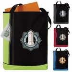 Vertical Pocket Tote Bag
