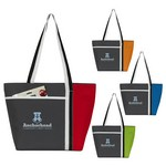 Calling All Stripes Cooler Tote Bag