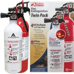 2-pack Home & Kitchen Fire Extinguishers