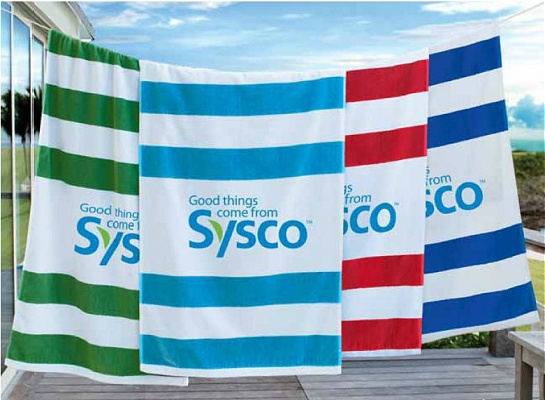 printed custom cabana beach towels with your logo