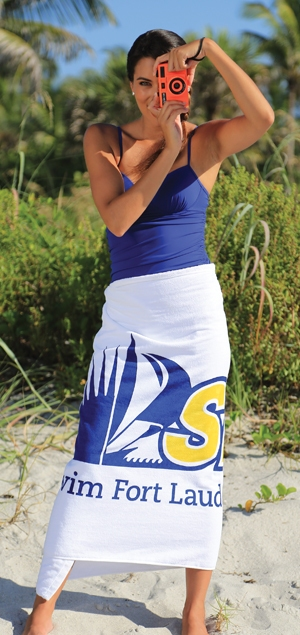 Custom Beach Towels with Logos