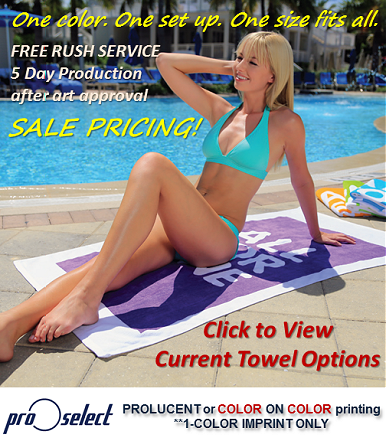 Rush Order Beach Towel Special