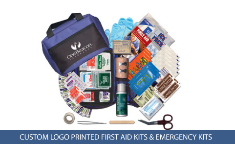 custom printed outdoor first aid kit