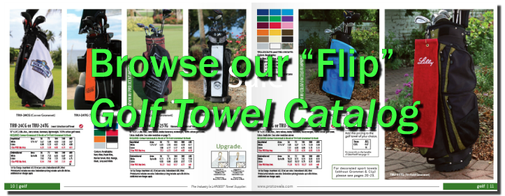 Golf Towel Sale Special
