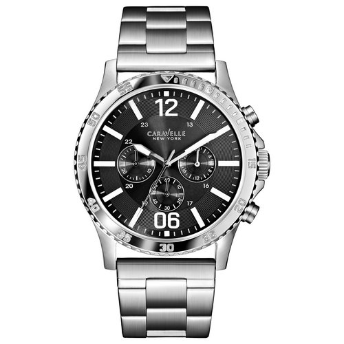 company watch caravelle custom watches for men and women and caravelle new york men s bracelet chronograph custom watch custom watch