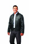 Forsyth Lambskin Leather Drving Jacket - Unisex