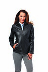 Ladies Lambskin Custom Leather Coat