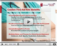 Custom Logo Printed Promotional First Aid Kits Video