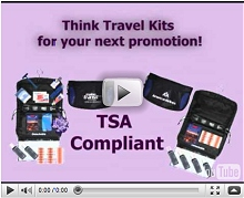 Think Travel Kits for Corporate Gifts Video