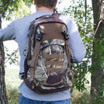 Realtree Camo Leather Backpack
