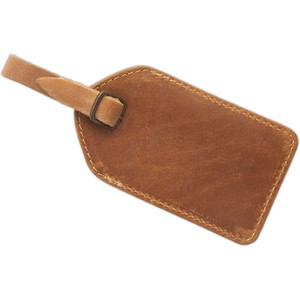 Barranca Canyon Leather Luggage Tag