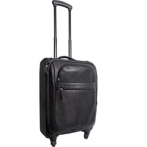 Romeo Canyon Leather Rolling Carry-On