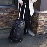 Wildcat Canyon Leather Rolling Duffel