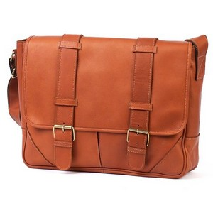 Sorrento Computer Leather Messenger Bag