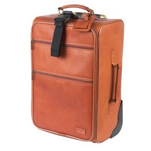 Classic 22 in. Pullman Leather Suitcase