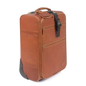 Classic 21 in. Pullman Leather Suitcase