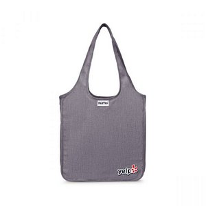 RuMe Classic Mini Foldable Reusable Tote - Heather Grey