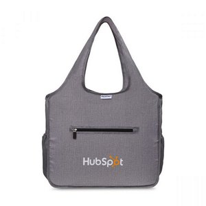 RuMe All Foldable Reusable Tote - Heather Grey