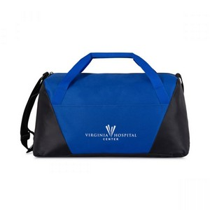 Geometric Sport Bag Royal Blue