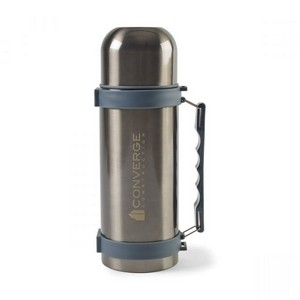 Aviana?Fallon Double Wall Stainless Beverage Bottle - 34 Oz. Charcoal