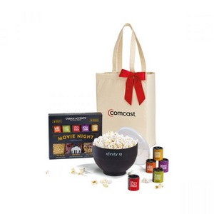 Movie Night Gourmet Popcorn Gift Set Natural