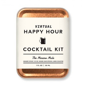 W&P Moscow Mule Carry On Cocktail Kit Copper
