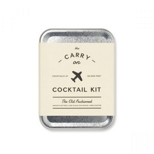 W&P Old Fashioned Carry On Cocktail Kit Stainless Steel