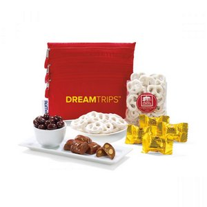 RuMe Bag with Chocolate Lovers Delights Crimson