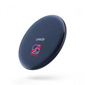 Anker PowerWave 10W Qi Wireless Charger Navy Blue