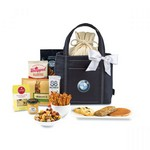 Piccolo Grab & Gourmet Snack Tote - Black