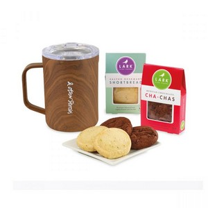 Corkcicle Sip & Indulge Cookie Gift Set - Walnut