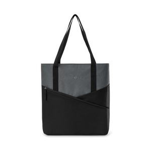 Daily Commuter Computer Tote - Black/Charcoal Heather