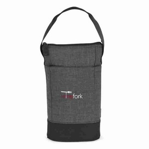 Heritage Supply Tanner Insulated Wine Kit Charcoal Heather