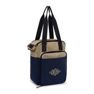 Southport Insulated Picnic Kit Desert Sand/Navy Blue