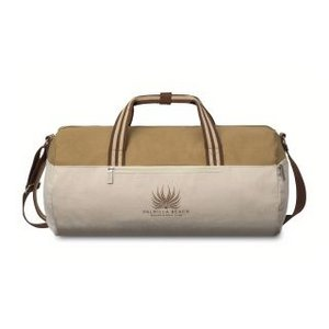 Charlie Cotton Barrel Duffel Dune