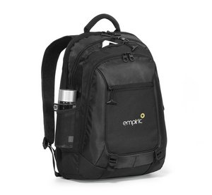 Life in Motion Alloy Computer Backpack - Black