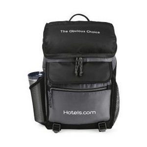 Excursion Computer Backpack with Insulated Pocket - Black/Seattle Grey