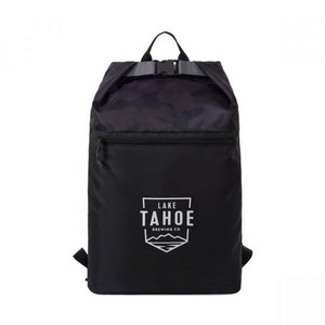 Rainier Roll Top Backpack Black/Urban Camo Pattern