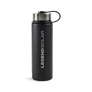 Andes Double Wall Stainless Bottle - 20 Oz. Black