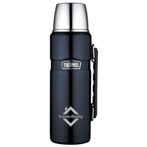 Thermos® Stainless King Beverage Bottle - 40 Oz. Midnight Bl