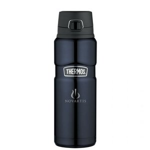 Thermos Stainless King Direct Drink Bottle - 24 Oz. Midnight
