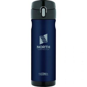 Thermos Backpack Bottle - 16 Oz. Midnight Blue