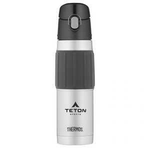 Thermos® Hydration Bottle w/ Rubber Grip - 18 Oz. Stainless