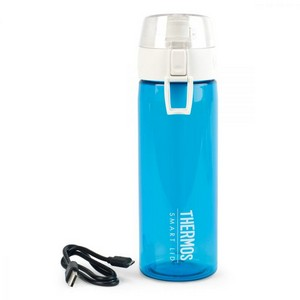 Thermos Connected Hydration Bottle with Smart Lid - 24 Oz. Turqu